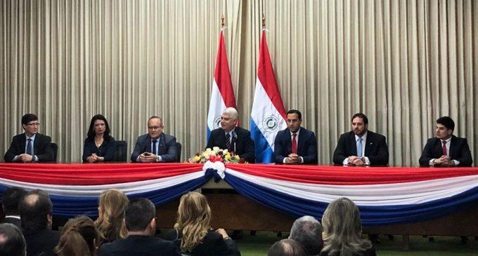 Garantizando igualdad para empresas paraguayas, Arnoldo Wiens asumió ministerio de Obras Públicas