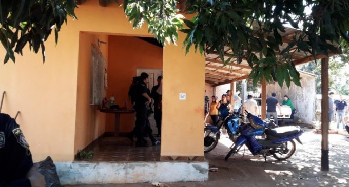 Cuádruple homicidio en Guairá