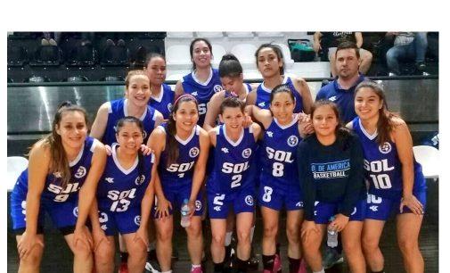 El torneo Clausura de Basquet femenino es liderado por las Solenses.