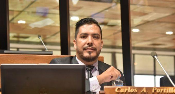 Presentaron pedido de pérdida de investidura de Carlos Portillo