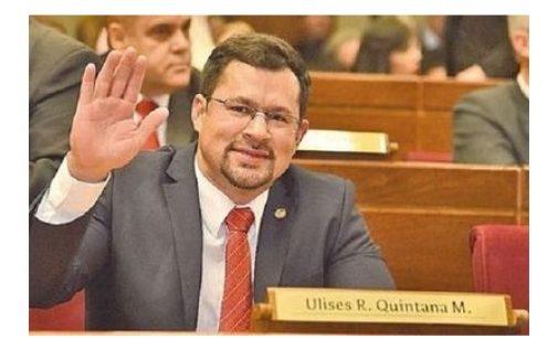 Hacen oficial pedido de desafuero de diputado Ulises Quintana