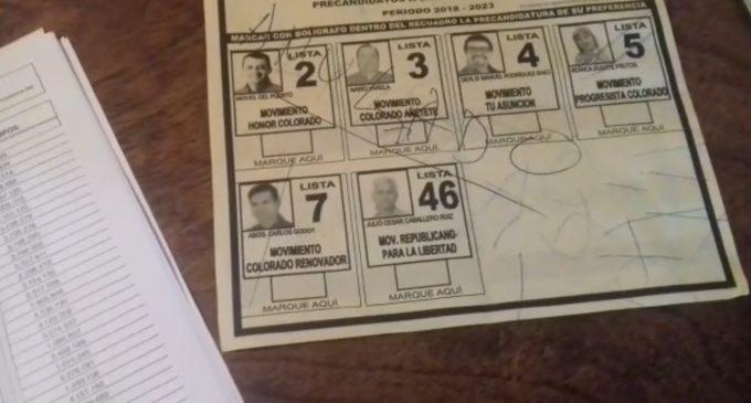 ANR se muestra a favor de desbloqueo de listas, pero solo para elecciones internas