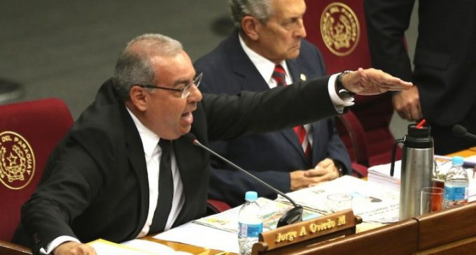 ANR reclamará banca de Oviedo Matto en Senado