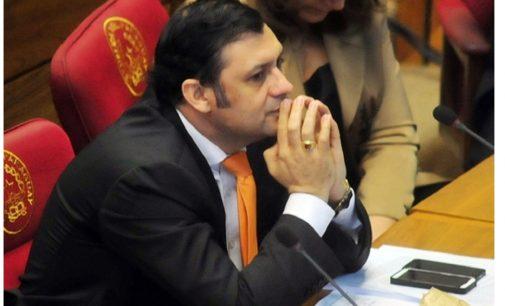 Senado ratifica desafuero de Víctor Bogado