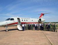 Llegó al país avión laboratorio destinado a calibrar sistemas de navegación