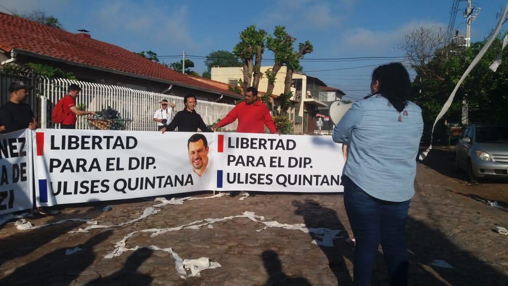 Asociación de Fiscales repudia escrache a Sandra Quiñónez