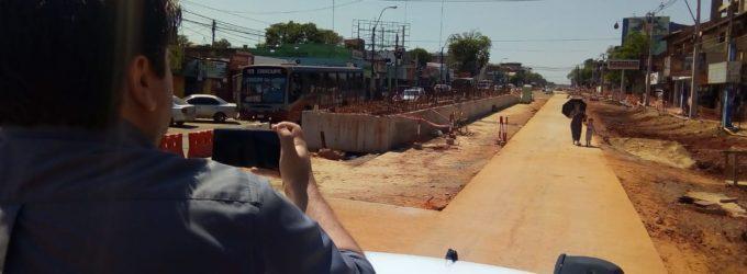 Municipalidad de Fernando de la Mora ofrece su personal para ayudar en zona de Metrobús
