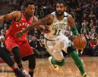 NBA: Raptors y Celtics ganan de nuevo