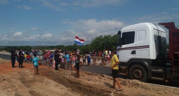 Bañadenses levantan manifestación sobre Costanera Norte