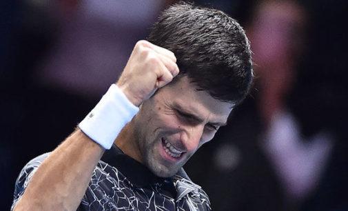 Djokovic supera a Isner y avanza en finales de la ATP