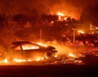 Aumenta a 23 el número de muertos por histórico incendio forestal en el norte de California