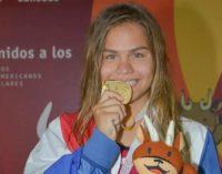 Luana Alonso es tricampeona sudamericana escolar