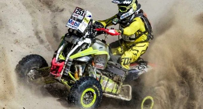 Nelson Sanabria se alista para el Dakar 2019