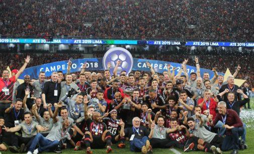 Atlético Paranaense campeón de la Sudamericana