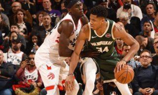 NBA: Antetokounmpo ganó el duelo a Leonard