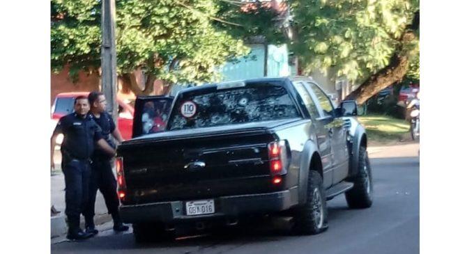 Tiroteo y persecución dejó varios heridos tras intento de sicariato en Pedro Juan Caballero