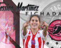 "Jessica ""Pirayú"" Martínez al fútbol español"