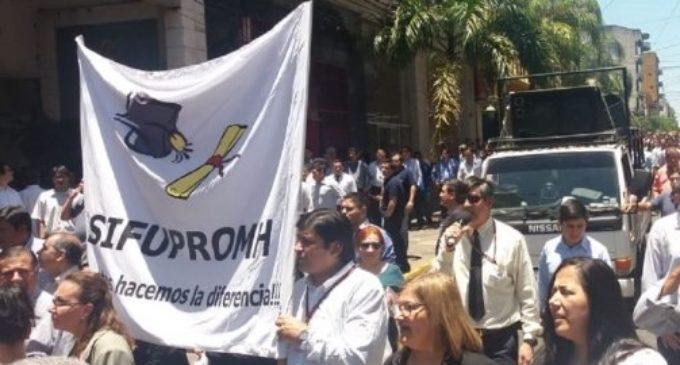 """Recorte de seguro médico a G. 1.000.000 es """"criminal"""", dice sindicalista de Hacienda"""