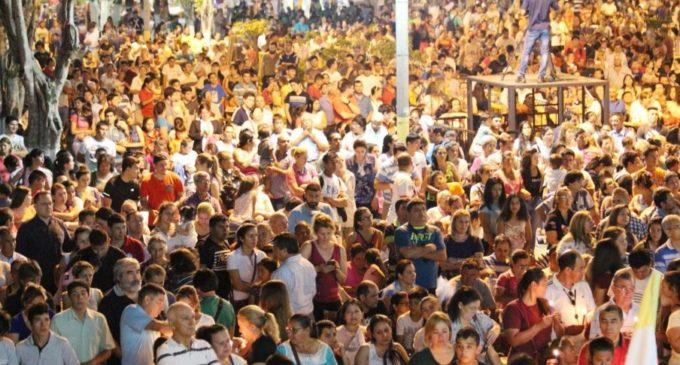 Ya registran récord de asistencia de fieles en Caacupé