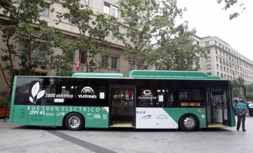 Chile será el primer país latinoamericano en implementar el transporte público eléctrico