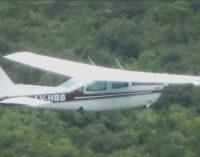 Avioneta buscada aterrizó en nuestro país y volvió a escapar
