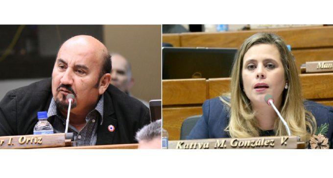 Diputado liberal anuncia querella contra Kattya González