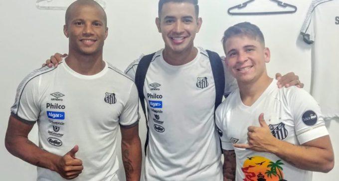 Derlis González marca en la goleada del Santos