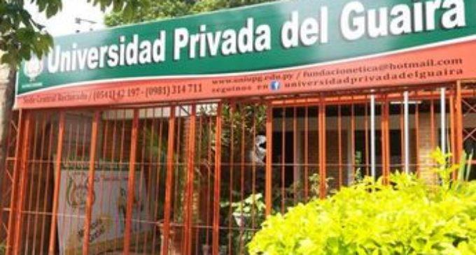 Preocupa situación de carrera Farmacéutica en Guairá