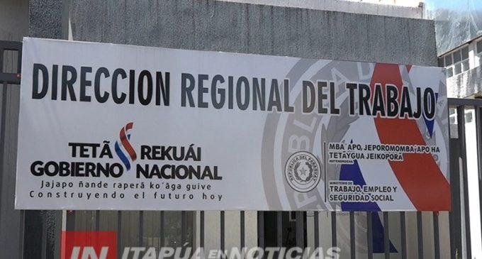 Abogados itapuenses repudian nombramiento en dirección regional del Ministerio del Trabajo