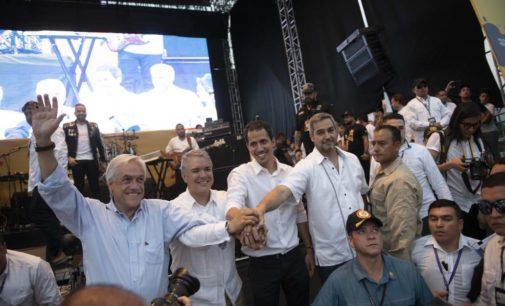 Presidente Mario Abdo entregó ayuda humanitaria para Venezuela
