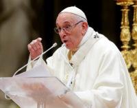 Papa Francisco pide que la lucha contra el hambre no sea sólo un eslogan