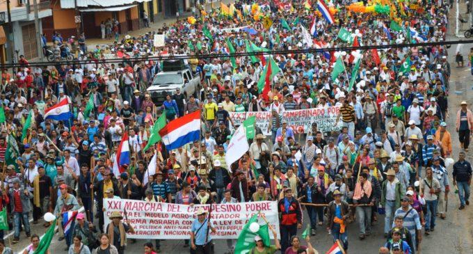 Federación Nacional Campesina prepara su tradicional marcha