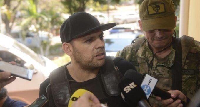 """Cucho"" denuncia a 7 agentes de la SENADpor robo"
