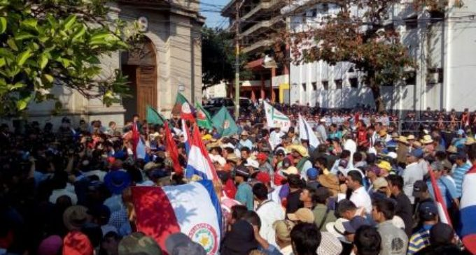 Marcha campesina: Exigirán aprobación de ley de defensa de agricultura familiar