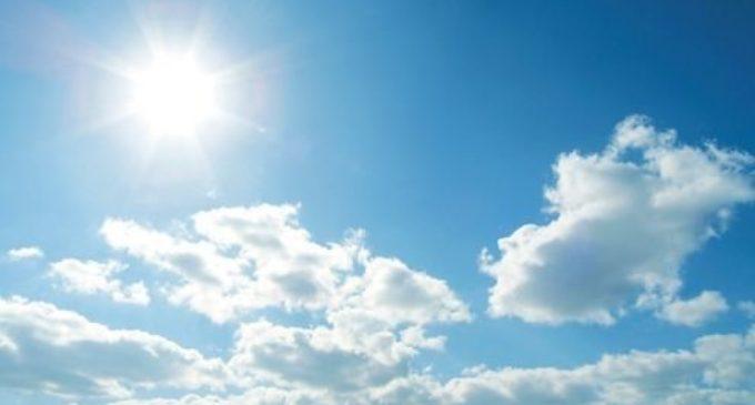 Pronostican fin de semana caluroso y húmedo