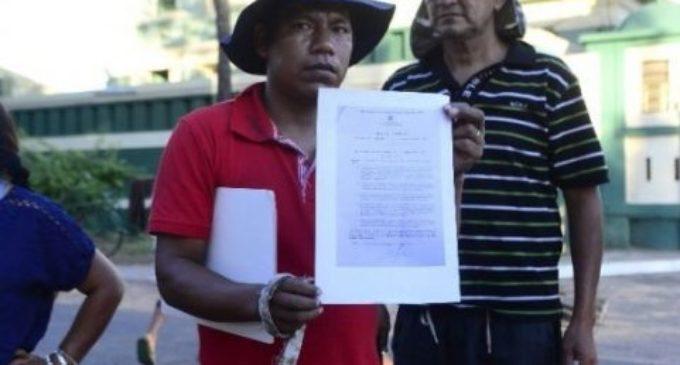 Arresto domiciliario para líder indígena