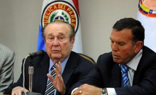 Nicolás Leoz, a un paso de la extradición a Estados Unidos