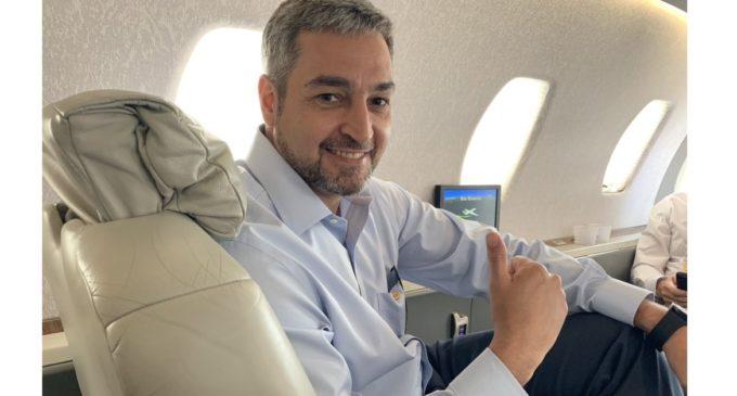 """Mario Abdo pide que """"toleren"""" sus viajes"""