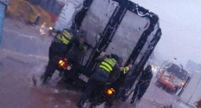 Temporal movilizó a patrulleras en gran Asunción