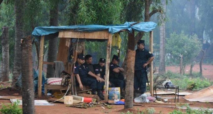 Policía herido en desalojo no podrá volver a realizar la misma labor