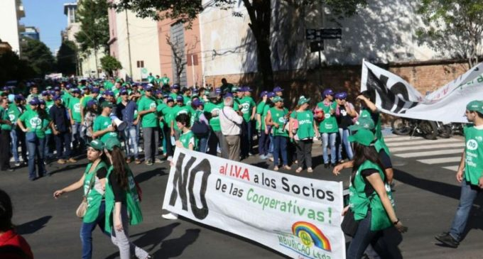 "Cooperativistas, alertas ante ""reflote"" de IVA"