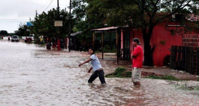 Tres distritos concepcioneros fueron declarados en emergencia ante intensas lluvias