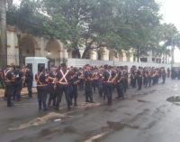 Importante movimiento policial por manifestación del #25A