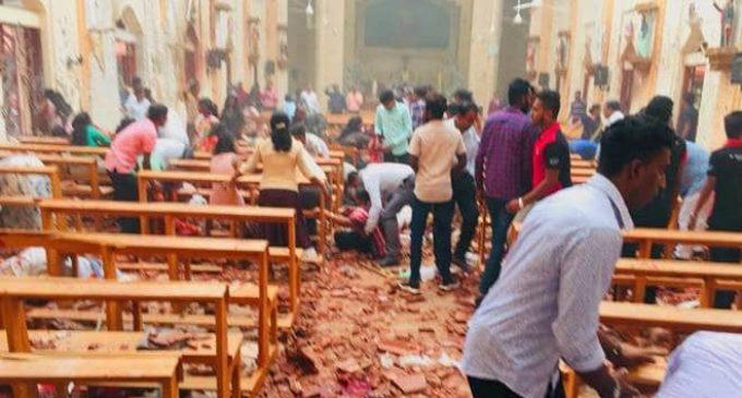 Más de 200 muertos y 450 heridos tras ataques a iglesias en Sri Lanka