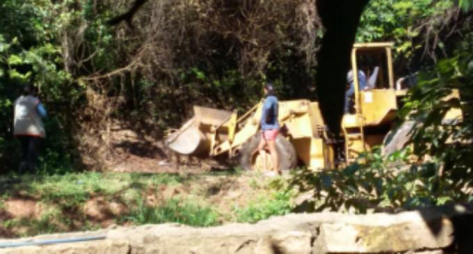 Denuncian desmonte del Cerro Lambaré y concejal responde