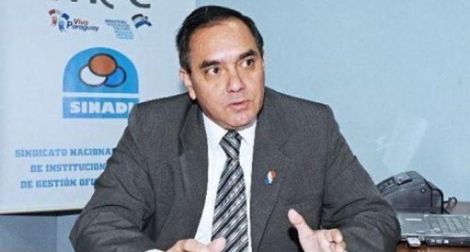 SINADI espera desembolso del MEC para continuar las clases