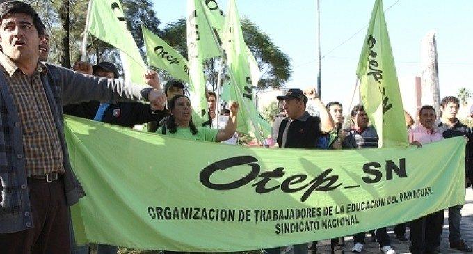 La OTEP exige al MEC que cumpla con el estatuto docente