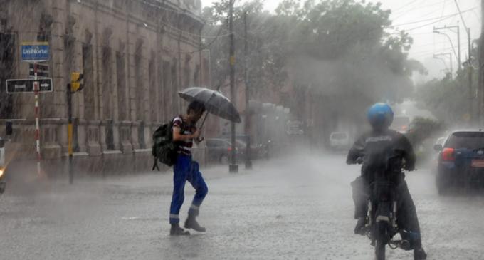 Las lluvias seguirán hasta el viernes