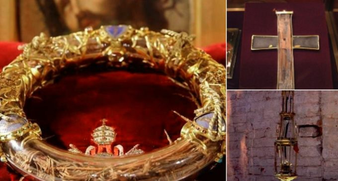 Reliquias de Cristo fueron salvadas del incendio de Notre Dame