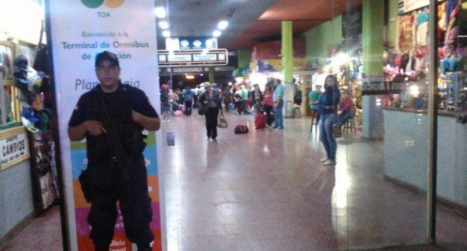450 mil personas pasarán por la Terminal de Asunción durante Semana Santa